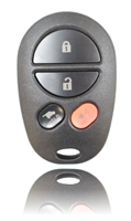 New Keyless Entry Remote Key Fob For a 2008 Toyota Highlander w/ 4 Buttons