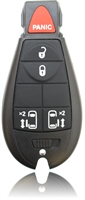 New Keyless Entry Remote Key Fob For a 2010 Chrysler Town & Country w/ 5 Buttons