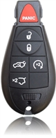 New Keyless Entry Remote Key Fob For a 2011 Jeep Grand Cherokee w/ 6 Buttons