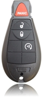 NEW 2008 Jeep Grand Cherokee Keyless Entry Remote Key Fob 4 Button Remote Start