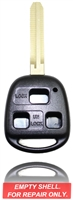 New Keyless Entry Remote Key Fob Shell Case For a 2001 Toyota Land Cruiser