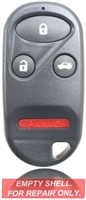 New Keyless Entry Remote Key Fob Shell Case For a 2000 Honda S2000 w/ 4 Buttons