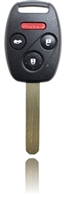 New Keyless Entry Remote Key Fob For a 2005 Honda Accord w/ 4 Buttons