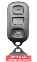 New Keyless Entry Remote Key Fob Shell Case For a 2001 Toyota Sequoia