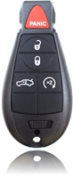 New Key Fob Remote For a 2009 Chrysler 300 w/ 5 Buttons & Programming