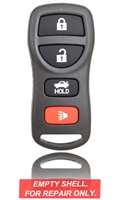 New Key Fob Remote Shell Case For a 2007 Infiniti QX56 w/ 4 Buttons