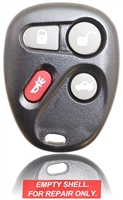 New Keyless Entry Remote Key Fob Shell Case For a 2004 Chevrolet Corvette