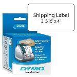 "White Shipping Label 2-5/16""x4"