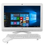 "Hp 22-b226 21.5"""" 1080p Fusion Quad-core A6-7310 2.0ghz All-in-onepc - 4gb 1tb Dvd?rw/w10h/webcam/wifi/bt (white)"