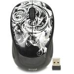 Logitech M325c 3-button Wireless Usb Optical Scroll Mouse W/tiltwheel Technology & Nano Transceiver (dark Fleur)