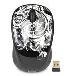 Logitech M317c 2.4ghz Wireless 3-button Optical Scroll Mouse W/nanousb Receiver (dark Fleur)