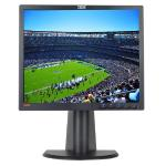 "19"""" Ibm Thinkvision L192p Dvi/vga 1280x1024 Rotating Lcd Monitor(black) - Rotates To Portrait Or Landscape View!"