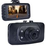 "Automotive 1080p Hd Dash Cam With Night Vision, 2.7"""" Lcd Screen &windshield Mounting (records To Microsd Card)"