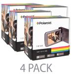 "(4-pack) Polaroid Camcorder Id1440-blk 14mp/4x Digital Zoom Full Hd1080p W/2.7"""" Touchscreen Display (black)"
