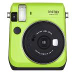 Fujifilm Instax Mini 70 Instant Camera W/rainbow Film Sheets (kiwigreen)