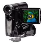 "Mitsuba Mit305 5mp (12mp Interpolated) Mini Digitalcamcorder/camera W/8x Digital Zoom, 2.4"""" Lcd & Carry Case (black)"