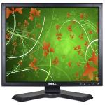 "19"""" Dell P190st Dvi 1280x1024 Rotating Lcd Monitor W/usb 2.0 Hub(black) - Rotates To Portrait Or Landscape!"