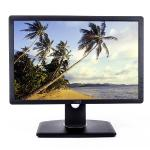 "19"""" Dell P1913b Dvi/displayport/vga 1440x900 Rotating Widescreenled Lcd Monitor W/usb Hub (black)"