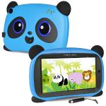 "Maxwest Panda 7 Quad-core 1.2ghz 1gb 16gb 7"""" Capacitive Touchscreenkids Tablet Android 8.1 Go W/cams & Bt (light Blue)"