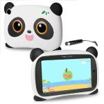 "Maxwest Panda 7 Quad-core 1.2ghz 1gb 16gb 7"""" Capacitive Touchscreenkids Tablet Android 8.1 Go W/cams & Bt (yellow Eyes)"