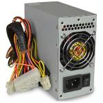 Diablotek Psda320 320w 20+4-pin Dual Fan Matx Power Supply W/sata