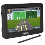 "Magellan Roadmate 5635t-lm 5.0"""" Touchscreen Portable Gps Systemw/north American Maps & Lifetime Map Updates/traffic"