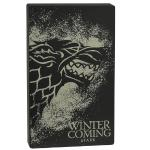 Tribe Game Of Thrones Stark 4000mah Power Bank W/charge Level Ledindicator - Retail Hanging Package