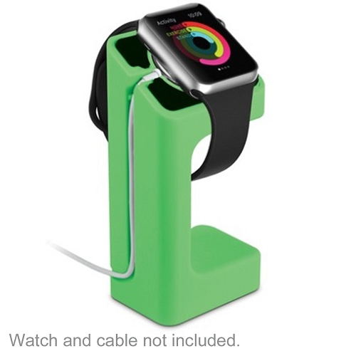 Acellories Apple Watch Charging Stand For Apple Watch 38mm And 42mm(green) - Retail Hanging Package