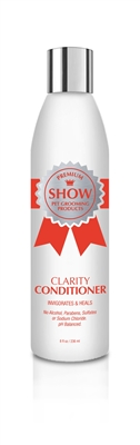 CLARITY Conditioner [8oz] by SHOW Premium Pet Grooming Products