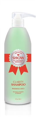 CLARITY Shampoo 32oz by SHOW Premium Pet Grooming
