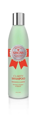 CLARITY Shampoo [8oz] by SHOW Premium Pet Grooming