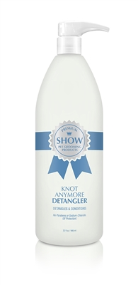 KNOT ANYMORE Detangler Spray by SHOW Premium Pet Grooming Products