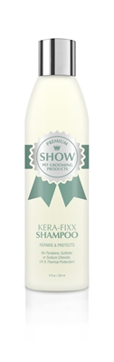 KERA-FIXX Shampoo by SHOW Premium Pet Grooming Products Repairs + Protects