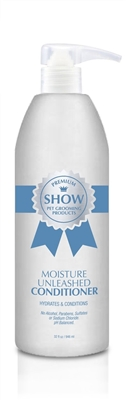 MOISTURE UNLEASHED Conditioner by SHOW Premium Pet Grooming Products