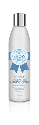 MOISTURE UNLEASHED Conditioner 8oz by SHOW Premium Pet Grooming Products