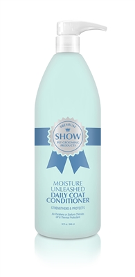 MOISTURE UNLEASHED Daily Coat Conditioner Spray Refill [32oz]