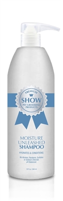 MOISTURE UNLEASHED Shampoo by SHOW Premium Pet Grooming Products