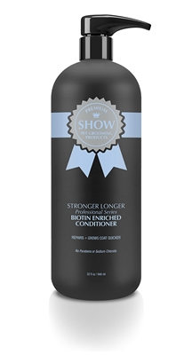STRONGER LONGER Professional Series Conditioner  32oz by SHOW Premium Pet Grooming Products
