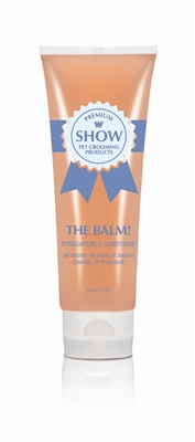 THE BALM! Conditioning & Straightening Balm [4oz] by SHOW Premium Pet Grooming Products