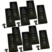 10-Pack lot set of Battery for Apple iPhone 4s