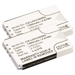 2 Pack Battery for Logitech Harmony Remote 1100