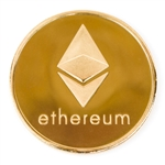 Ethereum Challenge Coin 24k Gold Plated