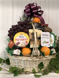 Specialty Fruit and Cheese Basket