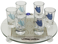 Glass Liquor Set #LALS39R