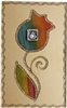 Large Glass Match Box #LAMBLRB