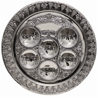 Seder Plate - SPTF13822BW1 (Arriving March 1)