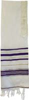 Tallit Acrylic Purple Gold