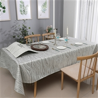 Jacquard Tablecloth #1214