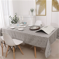 Jacquard Tablecloth #1218