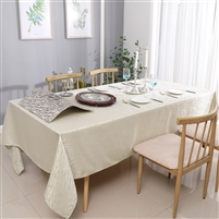 Jacquard Tablecloth #1219